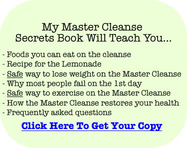 Master Cleanse Secrets ebook