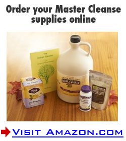 master cleanse kits
