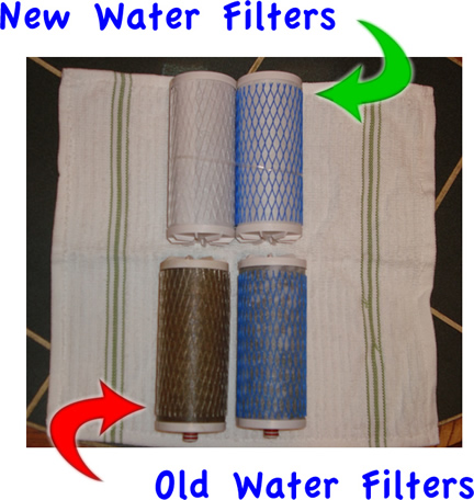 water filter replacement cartridges