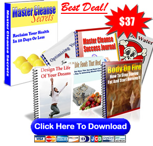 Master Cleanse Colon Cleanse