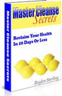 Master Cleanse Secrets Raylen Sterling Book